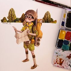 Sam Shakusky from moonrise kingdom. One of my favourite anderson movies (beside…
