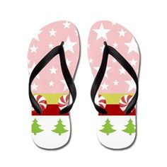 Comet Pink- trees kiwi Flip Flops> Comet Pink-trees kiwi> DrapeStudio - CHRISTMAS FLIP FLOPS in ALL Sizes from kids to adults - more fun products with this Christmas holiday design in our shop www.cafepress.com/drapestudio & MORE Christmas gift ideas on our main site www.drapestudio.com and www.etsy.com/shop/drapestudio ALSO fabric by the yard www.spoonflower.com/profiles/drapestudio