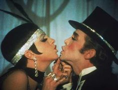 """Cabaret"" (1972)  Liza Minnelli as Sally Bowles  Joel Grey as Emcee"