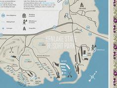 Wedding website map by Bennie Kirksey Wells