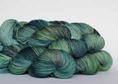 MANHATTAN ... PearlSock, hand dyed yarn. via Etsy.