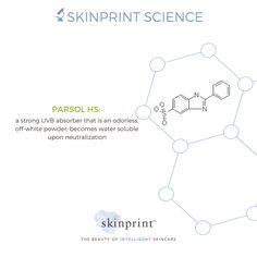 Ever wonder how sunscreen works? It's not magic; it's science! #SkinprintScience #naturallyintelligentskincare #skinprint #skincareingredients #ParsolHS