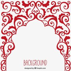 Arabic ornament background Free Vector http://www.freepik.com/free-vector/arabic-ornament-background_796794.htm