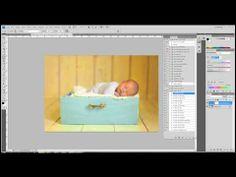 Video Tutorial: A Full Newborn Edit in Photoshop