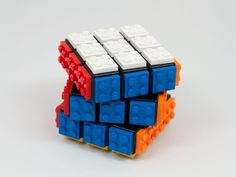 Combining two of the best things ever!  Lego bricks and Rubik's cubes...  Be the first one on your block to own one (and solve it!)