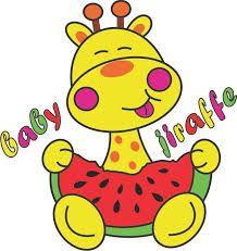 Resultado de imagen para jirafas bebes