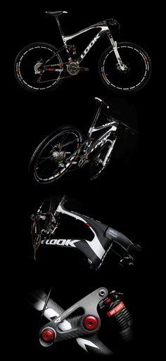 look 920 carbon kit mtb Bmx, Velo Design, Bicycle Design, Mountain Biking, Montain Bike, Mt Bike, Downhill Bike, Bike Style, Bike Trails
