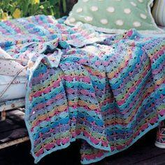 6 free crochet blanket patterns