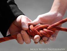 Rock climbing wedding  New River Gorge, WV  Wedding Photography | Molly Wolff Photography