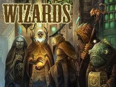 Awesome art project from Sean Andrew Murray - Gateway: The Book of Wizards
