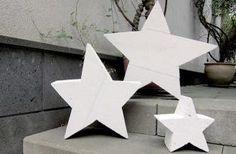 Weihnachtsidee: Ytong-Sterne