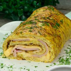 Ruladă din cartofi cu șuncă și cașcaval-am preparat-o în doar 30 minute, dar am primit o mulțime de laude! - savuros.info