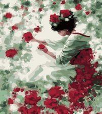 Картина по номерам `Нежность роз` (400x500 мм; арт. MG144)