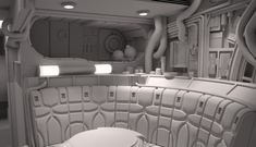 Stinson's All Things Star Wars Blog: Definitive Millennium Falcon Interior (part 2)