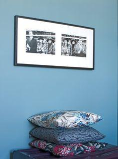 Cheerful blue paint color: Farrow & Ball 'Berrington Blue' by xJavierx, via Flickr