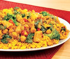 Not sure what to make tonight?  This low calorie, low fat curry can add some spice back into your boring diet.