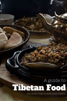 A small guide to Tibetan food. If you ever make it to those areas be ready to eat a lot of barley and yak!