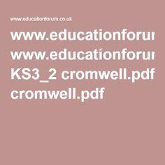 www.educationforum.co.uk KS3_2 cromwell.pdf