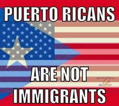 OMG... Yesss... I JUST read on the news today that half of American population are unaware that Puerto Ricans are U.S. Citizens. Smh!!!!