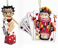 Set of 2 Betty Boop Cards