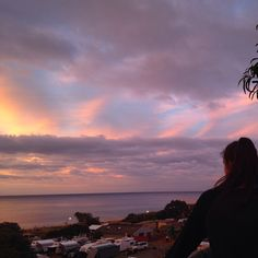 Wonderland skies, Brighton Beach, Australia