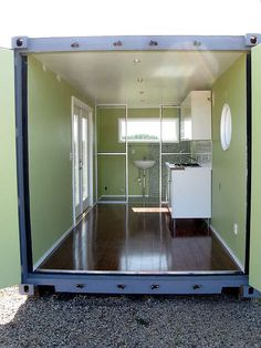 Shipping Container Home interior 1