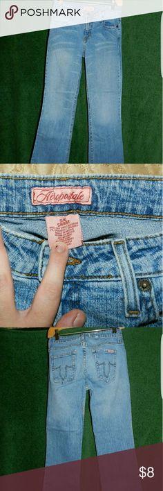 Aeropostale size 5/6 short boot cut jeans Aeropostale jeans.  No holes stains ect.  Size 5/6 short Aeropostale Jeans Boot Cut