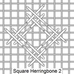 Square Herringbone 2