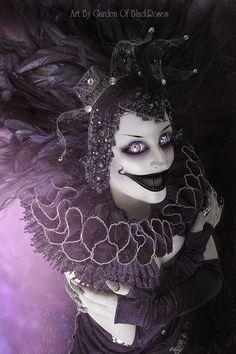 The Joker by Garden-Of-BlackRoses on deviantART Maquillage Halloween, Halloween Makeup, Scream, Dark Fantasy, Fantasy Art, Darkness Girl, Happy Birthday Black, Scared Of The Dark, Gothic Culture