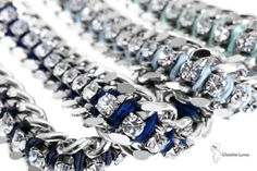 PRIVE' #bracelets collection in shades of blue