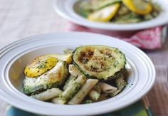 Gojee - Pan-Seared Squash with Pumpkin Seed Pesto Pasta by So Good & Tasty