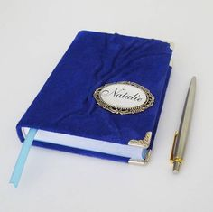 Blue Journal Personalized Leather Journal Diary Custom #blue #bluejournal #personalizedjournal #customnotebook #leathergift #artjournal #diary #traveljournal #leatherart #graduation #birthdaygift #journal #diary #leatherjournal