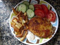 Fried Cheese (Vyprážaný syr). OMG my favorite meal when I go to the CZ!
