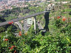 Madeiralla on monia ihan huikeita näköalapaikkoja, eikö vain...