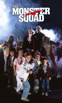 The Monster Squad (1987)    Dracula is alive. In fact, he plans to rule the world and that is why he seeks the help of other legendary monsters. However, a bunch of kids regarded by their peers as losers uncover the devious plan and prepare for a counter strike.