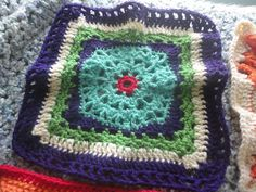 Ravelry: Project Gallery for Chain Reaction Afghan Project pattern by Interweave Crochet Team and other contributors
