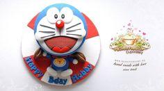 Doraemon cake | baby | Pinterest