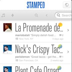 Stamped brings an interesting approach to rating everyday things. With your single stamp of approval, you can wholeheartedly endorse anything as a recommendation for your friends. Their swipe approach to navigating between filters and a search bar make it easier to find exactly what you're looking for by using one centralized bar.