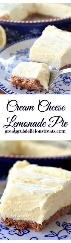 Cream Cheese Lemonade Pie