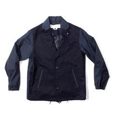 Ganryu - Lapel Coaches Jacket