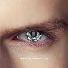 Terminator Bionic Eye Contact Lenses (Pair)