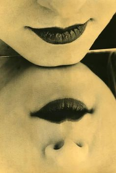 ♥ Pinterest : Mutine Lolita ♥ man ray photography lips