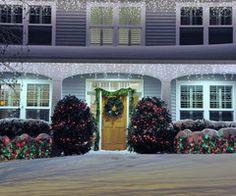 christmas, winter, holidays, lights