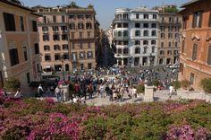 Plaza de España, Roma, Italia (nos la recomienda Manuel)