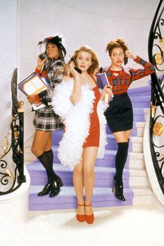 Queen of pairing Mary Janes with knee high socks, Cher Horowitz's looks from Clueless summed up the '90s fashion scene perfectly. - HarpersBAZAAR.com