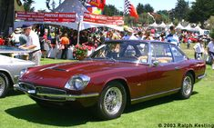 1967 Maserati Mexico  the production model was designed by Vignale - this is the Pietro Frua design.