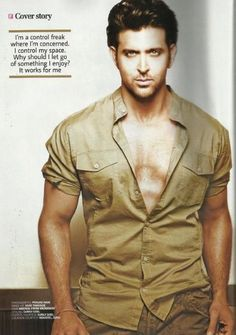 Hrithik Roshan - Filmfare Magazine Pictorial [India] July Hello Everyone, Please check latest bolloywood things here. Bollywood Stars, Bollywood News, Bollywood Actress, Hrithik Roshan Bang Bang, Hrithik Roshan Hairstyle, Fine Men, Star Wars, Bollywood Celebrities, Attractive Men
