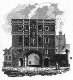 Inch Print - High quality print (other products available) - Ludgate Date: circa 1810 - Image supplied by Mary Evans Prints Online - Photo Print made in the USA Fine Art Prints, Framed Prints, Canvas Prints, Old Gates, Thing 1, Online Images, A0 Poster, Wonderful Images, Photo Greeting Cards