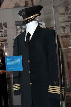 Eastern Airlines pilot's uniform from the late 1970's by HistoryMiami, via Flickr