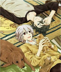 Shared by Random Otaku. Find images and videos about cute, anime and manga on We Heart It - the app to get lost in what you love. Hot Anime Guys, Anime Love, Nezumi No 6, Otaku, Anime Lindo, Wattpad, Fan Art, Shounen Ai, Anime Couples